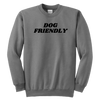 Dog Friendly Youth Sweatshirt Youth Crewneck Sweatshirt Woofingtons
