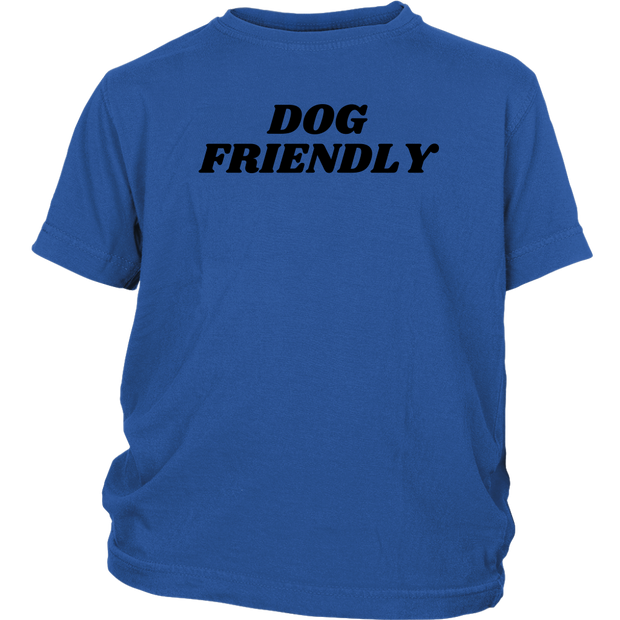 Dog Friendly Youth Tee District Youth Shirt Woofingtons
