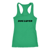 Dog Lover Tank Top Next Level Racerback Tank Woofingtons