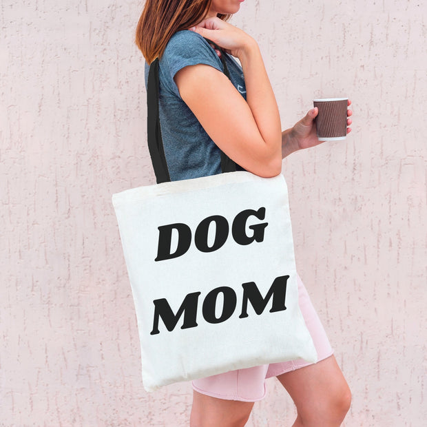 Dog Mom Tote Bag Tote Bag Woofingtons