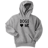 Dogs Love Me Youth Hoodie Youth Hoodie Woofingtons