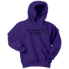 I Just Want To Pet All The Dogs Youth Hoodie Youth Hoodie Woofingtons