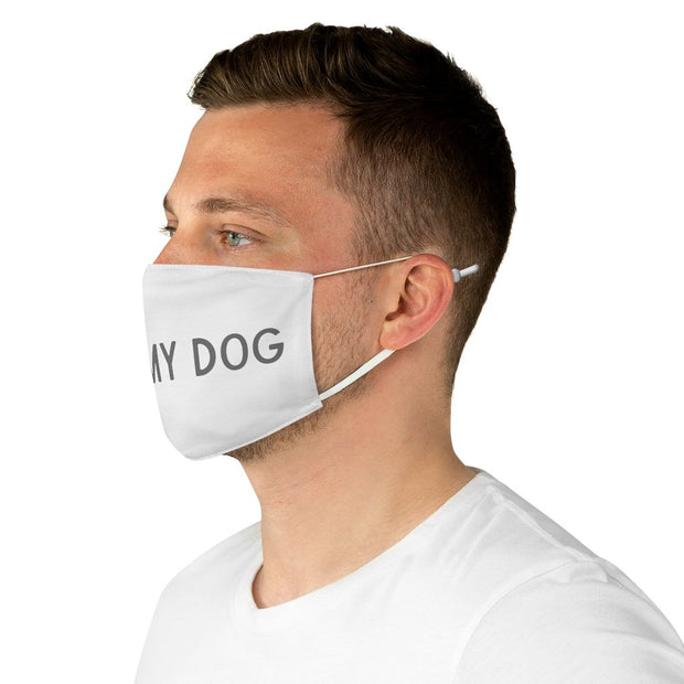 I Miss My Dog Fabric Face Mask-Apparel-One size-Woofingtons