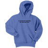 I'd Rather Be Hanging Out With My Dog Youth Hoodie Youth Hoodie Woofingtons