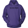 I'm A Dog Person Unisex Hoodie Unisex Hoodie Woofingtons