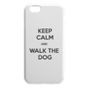 Keep Calm And Walk The Dog iPhone Case-iPhone 6 6S-Woofingtons