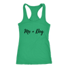 Me + Dog Tank Top Next Level Racerback Tank Woofingtons