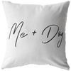 Me + Dog Throw Pillow Stuffed & Sewn Woofingtons