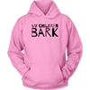 My Children Bark Unisex Hoodie-Pink-Woofingtons
