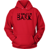 My Children Bark Unisex Hoodie-Red-Woofingtons