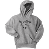 My Siblings Have Paws Youth Hoodie Youth Hoodie Woofingtons