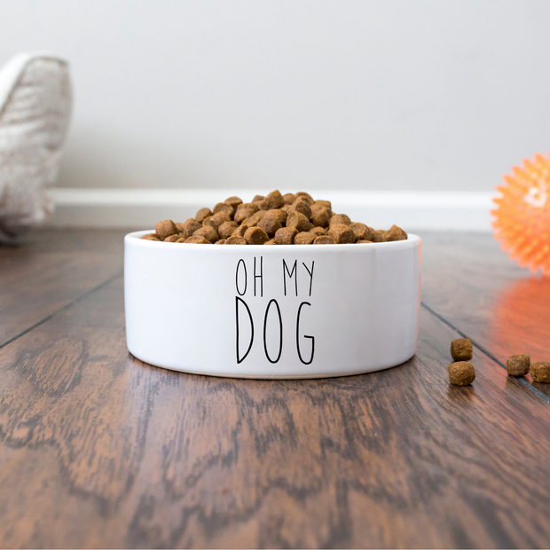 Oh My Dog Bowl-dog-lover-gift