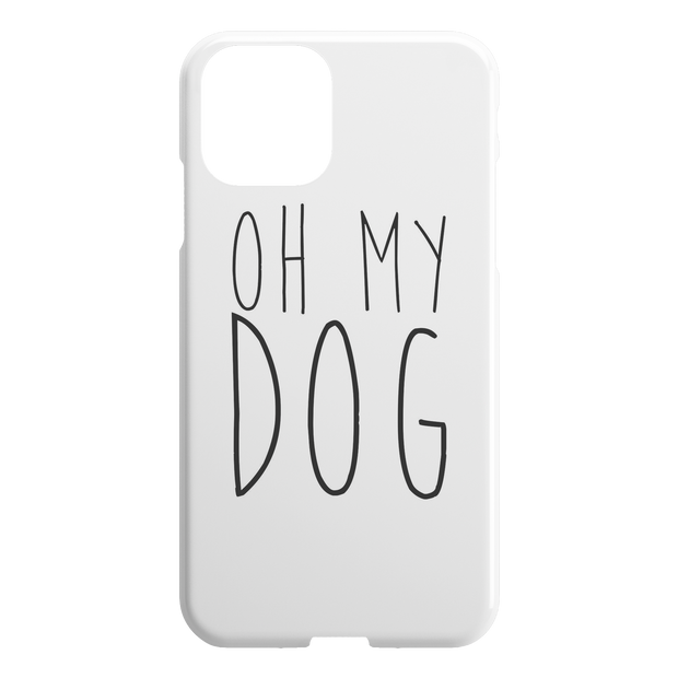 Oh My Dog iPhone Case-iPhone 11-Woofingtons
