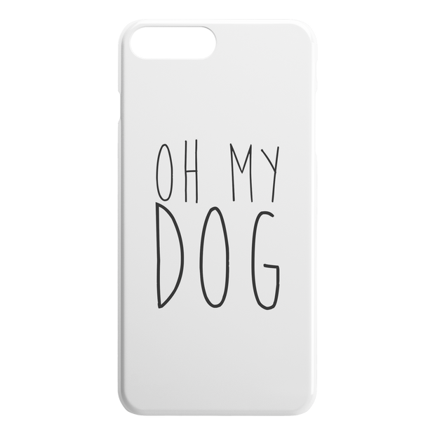 Oh My Dog iPhone Case-iPhone 7 8 PLUS-Woofingtons