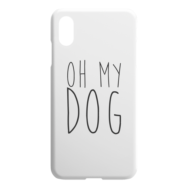 Oh My Dog iPhone Case-iPhone X XS Max-Woofingtons