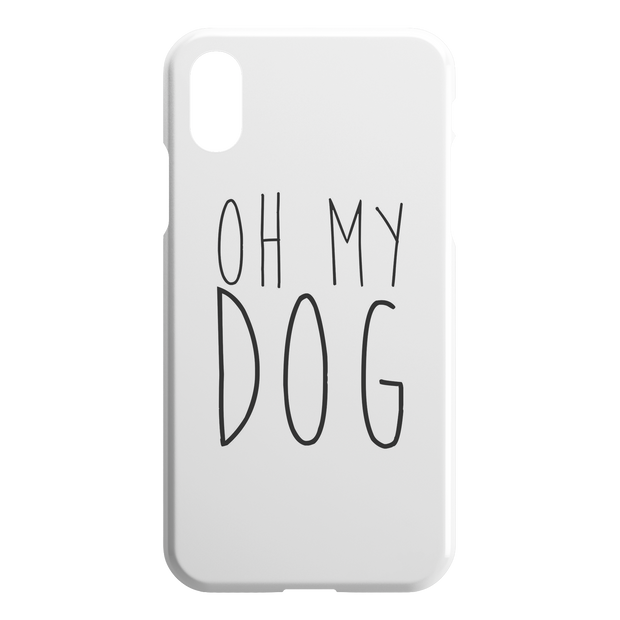 Oh My Dog iPhone Case-iPhone XR-Woofingtons