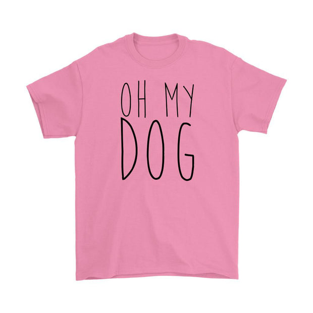 Oh My Dog Mens Tee-Azalea-Woofingtons