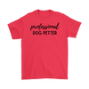 Professional Dog Petter Mens Tee Gildan Mens T-Shirt Woofingtons