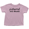 Professional Dog Walker Toddler Tee Toddler T-Shirt Woofingtons