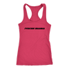 Rescue Mama Tank Top Next Level Racerback Tank Woofingtons