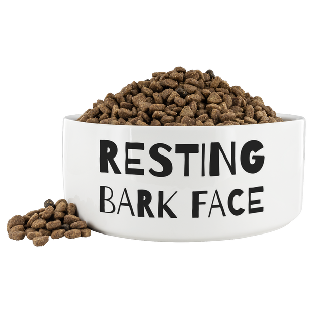 Resting Bark Face Dog Bowl-dog-lover-gift