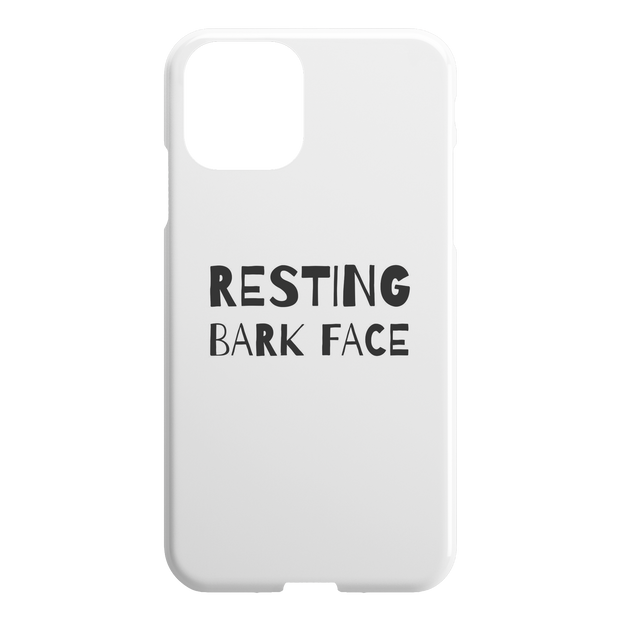 Resting Bark Face iPhone Case-iPhone 11-Woofingtons