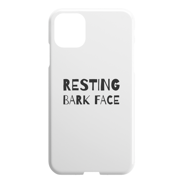 Resting Bark Face iPhone Case-iPhone 11 Pro-Woofingtons
