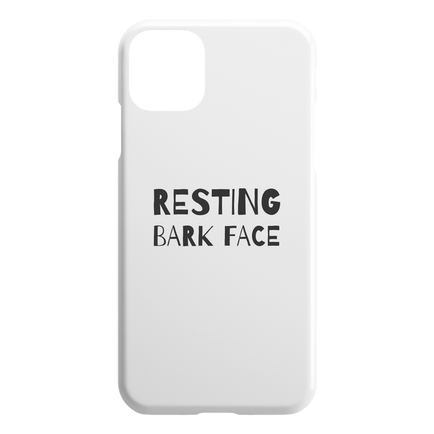 Resting Bark Face iPhone Case-iPhone 11 Pro Max-Woofingtons