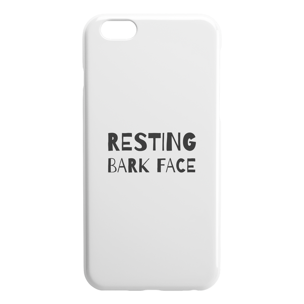 Resting Bark Face iPhone Case-iPhone 6 6S PLUS-Woofingtons