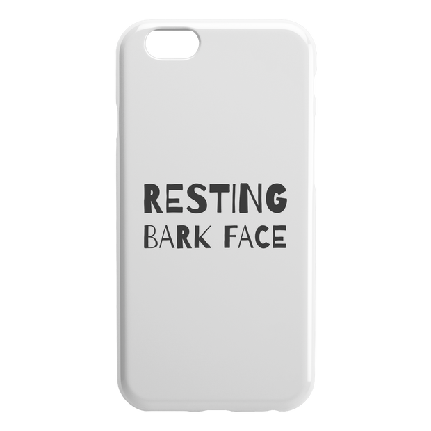 Resting Bark Face iPhone Case-iPhone 6 6S-Woofingtons