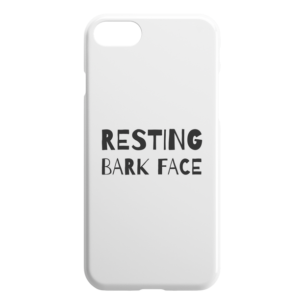 Resting Bark Face iPhone Case-iPhone 7 8-Woofingtons