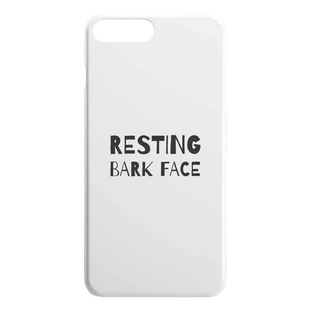 Resting Bark Face iPhone Case-iPhone 7 8 PLUS-Woofingtons