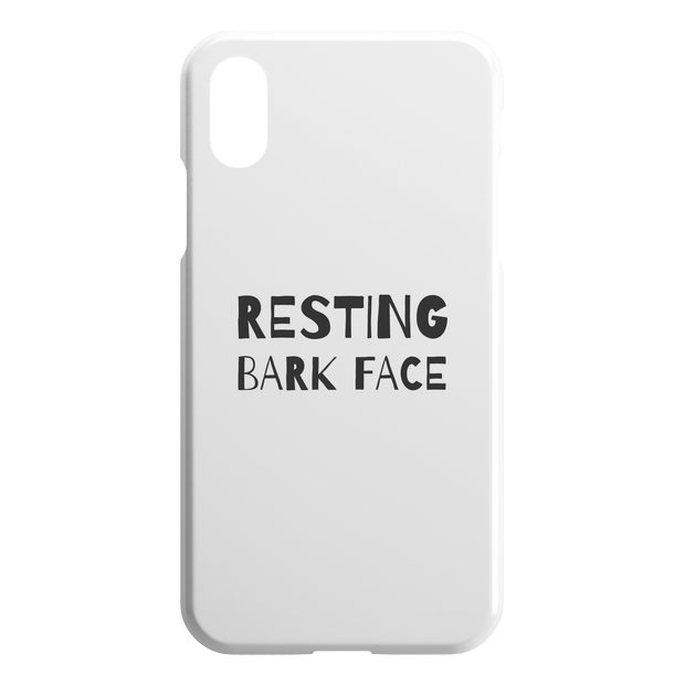 Resting Bark Face iPhone Case-iPhone XR-Woofingtons