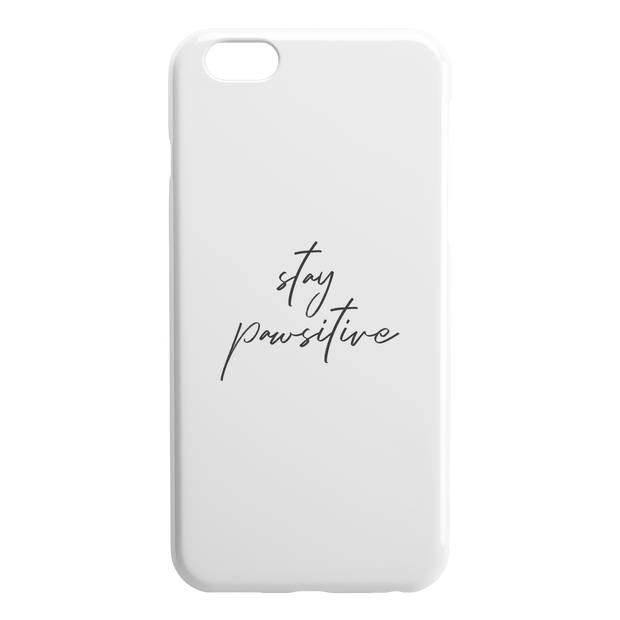 Stay Pawsitive iPhone Case-iPhone 6 6S PLUS-Woofingtons