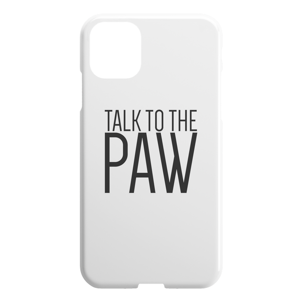 Talk To The Paw iPhone Case-iPhone 11 Pro-Woofingtons