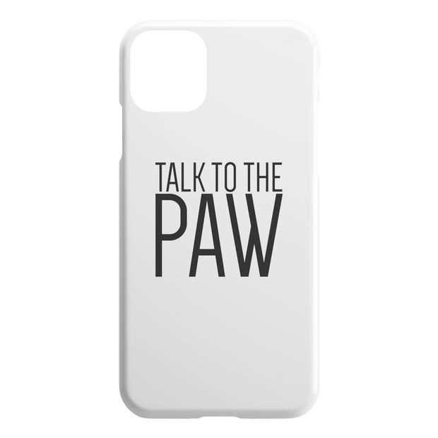 Talk To The Paw iPhone Case-iPhone 11 Pro Max-Woofingtons