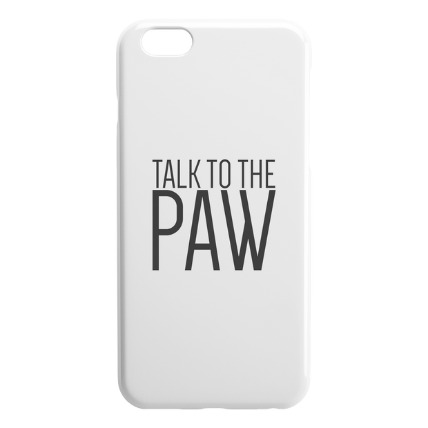 Talk To The Paw iPhone Case-iPhone 6 6S PLUS-Woofingtons