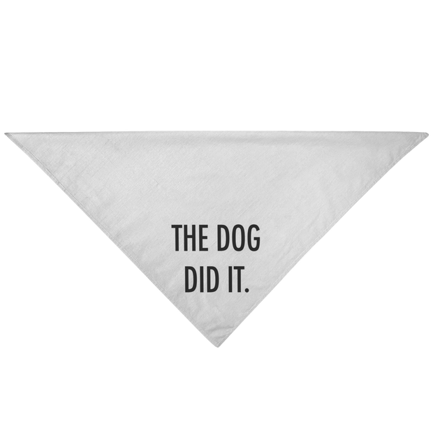The Dog Did It Dog Bandana-dog-lover-gift