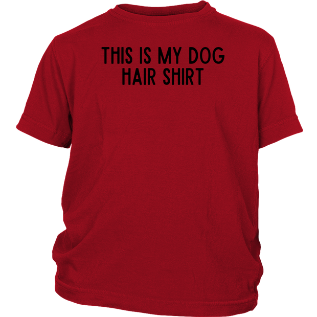 This Is My Dog Hair Shirt Youth Tee District Youth Shirt Woofingtons