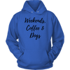 Weekends, Coffee & Dogs Unisex Hoodie Unisex Hoodie Woofingtons