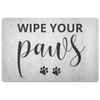 Wipe Your Paws Welcome Mat Mat Woofingtons