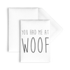 You Had Me At Woof Flat Cards-10pc-Woofingtons