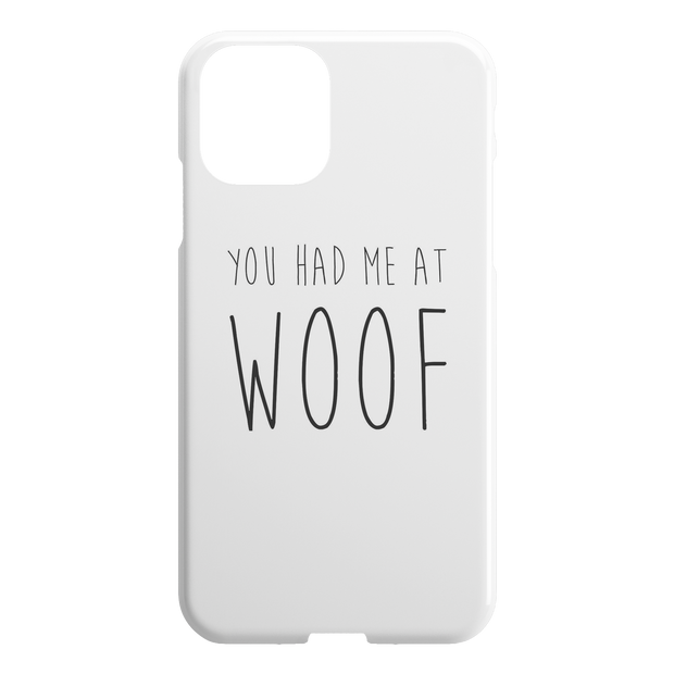 You Had Me At Woof iPhone Case-iPhone 11-Woofingtons