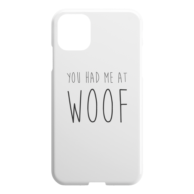 You Had Me At Woof iPhone Case-iPhone 11 Pro-Woofingtons