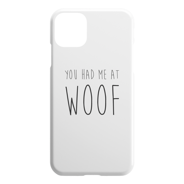 You Had Me At Woof iPhone Case-iPhone 11 Pro Max-Woofingtons