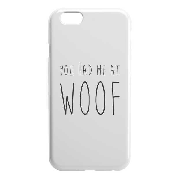 You Had Me At Woof iPhone Case-iPhone 6 6S-Woofingtons