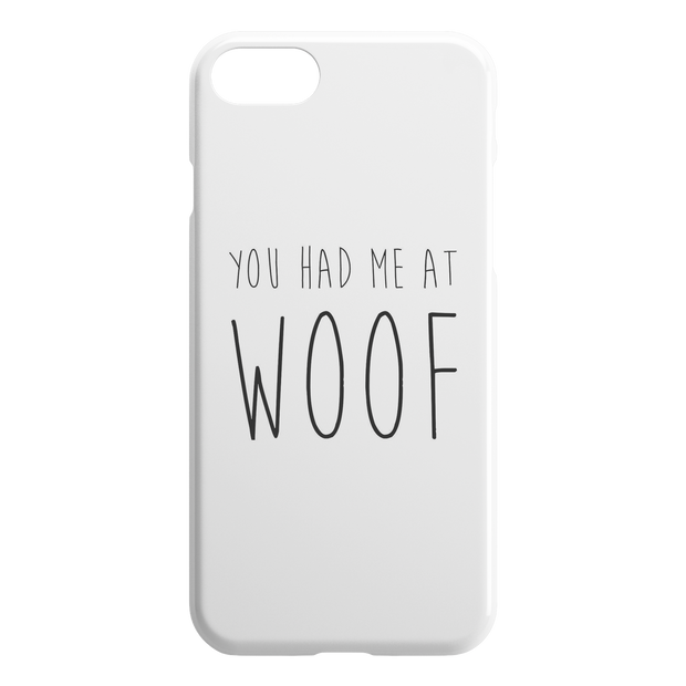 You Had Me At Woof iPhone Case-iPhone 7 8-Woofingtons