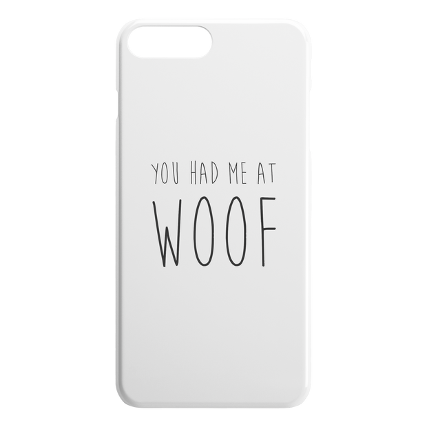 You Had Me At Woof iPhone Case-iPhone 7 8 PLUS-Woofingtons