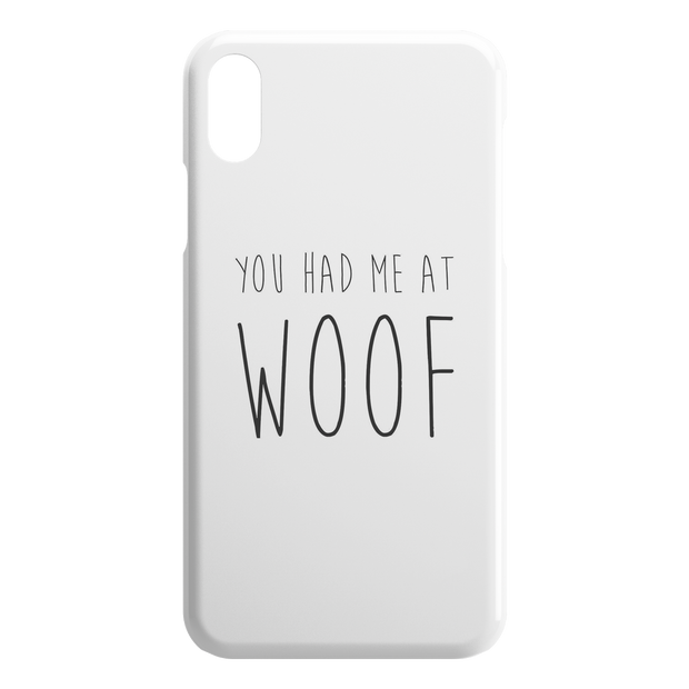 You Had Me At Woof iPhone Case-iPhone X XS-Woofingtons