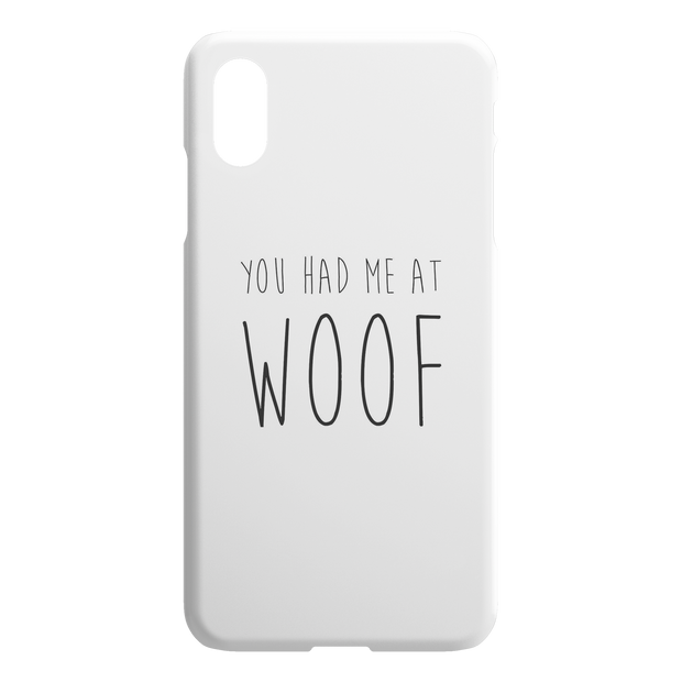 You Had Me At Woof iPhone Case-iPhone X XS Max-Woofingtons
